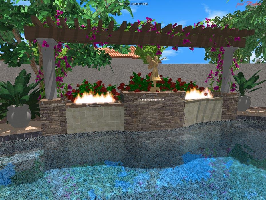 Design 3d photo gallery for Pool design programs