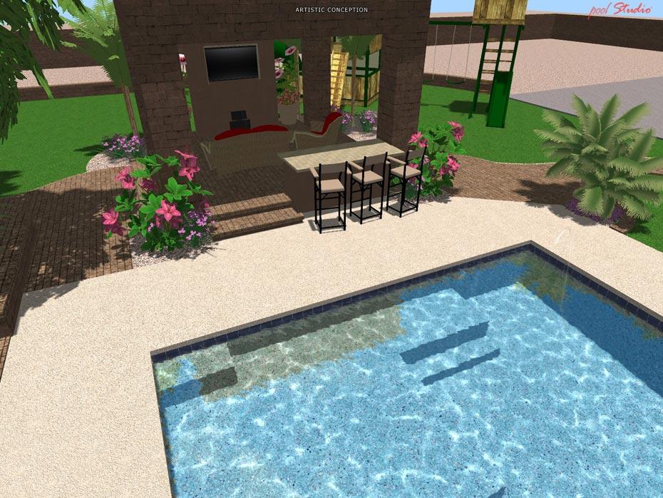... 3D Pool Design Scottsdale Az 57 ...