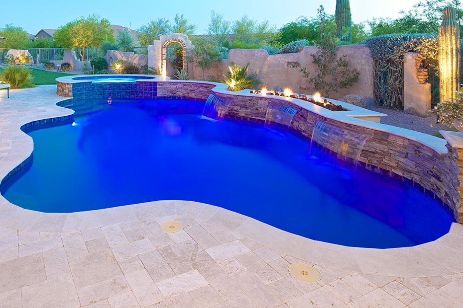 Phoenix Freeform Lagoon Swimming Pool Amp Spa Design Photo