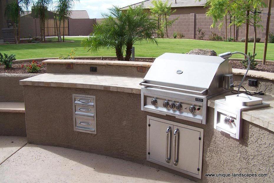Outdoor kitchens bbq photo gallery for Bbq kitchen designs