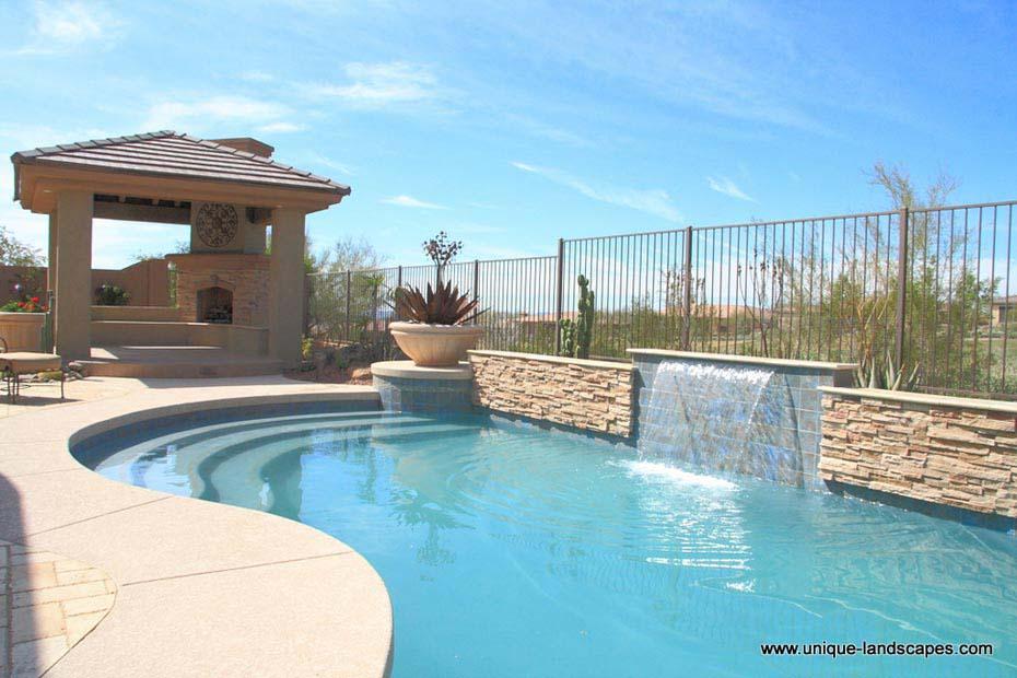 Phoenix Swimming Pools : Acrylic patios photo gallery