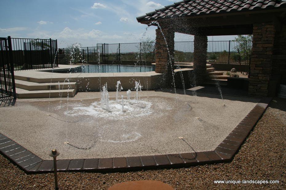 Backyard Splash Pads phoenix az splash pads & splash parks - photo gallery