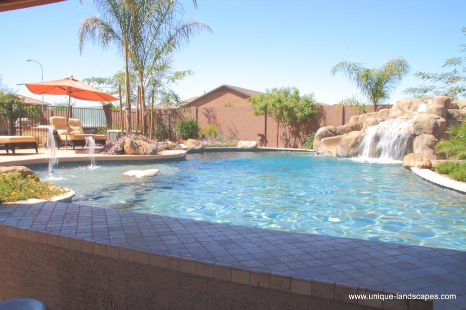 Swimming Pool With Swim Up Bar : Swim up bars and swimming pools in phoenix az photo gallery