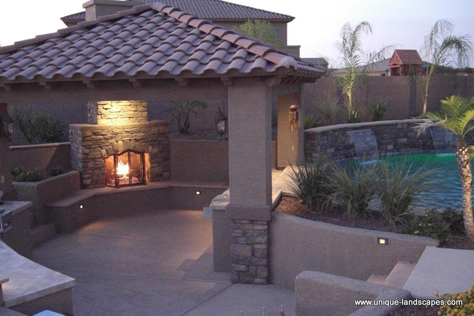 Backyard patio ideas with above ground pool backyard patio ideas - Swim Up Bars And Swimming Pools In Phoenix Az Photo Gallery