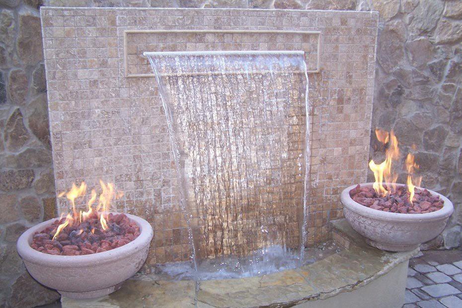 Waterfalls photo gallery for Garden fountains phoenix