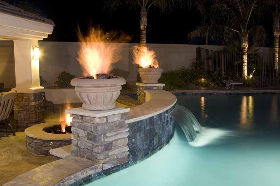 Phoenix Swimming Pool Waterfalls & Features: Arizona ...