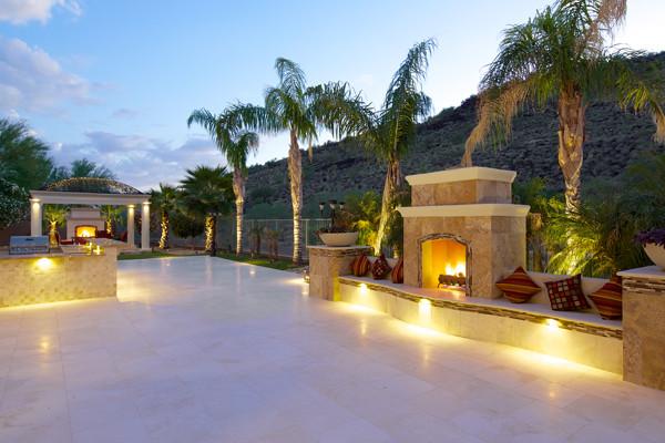 Outdoor lighting phoenix landscaping design pool builders beautiful lighting in phoenix mozeypictures Image collections