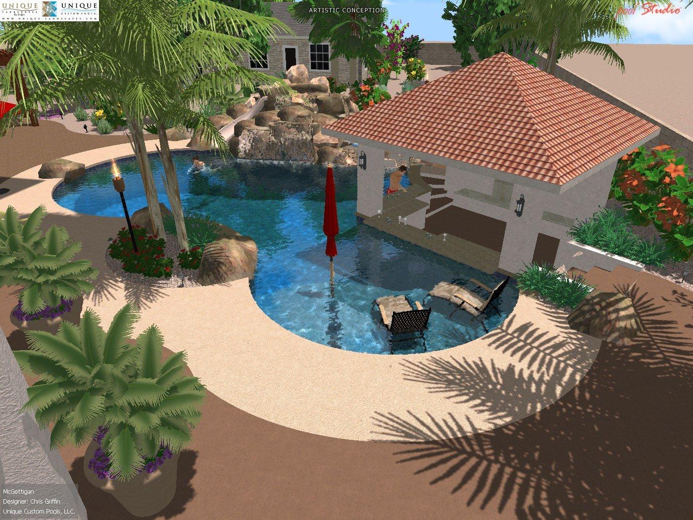 Client Designs Phoenix Landscaping Design Amp Pool