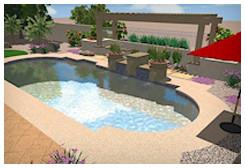 Mesa landscape design