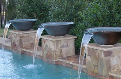 Grand Effects Water Bowls Phoenix Landscaping Design