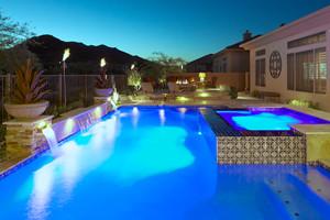 Unique Pool Lightig