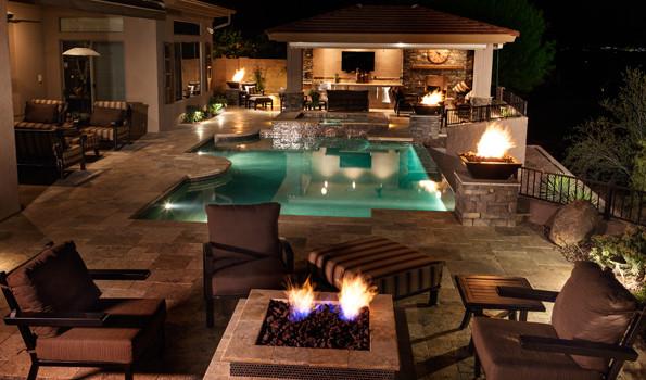 Unique Outdoor Living Rooms