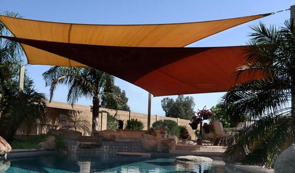 Shade Sails courtesy of TENSHON.com