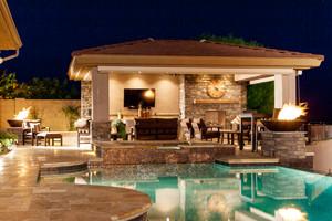 Unique Pool House