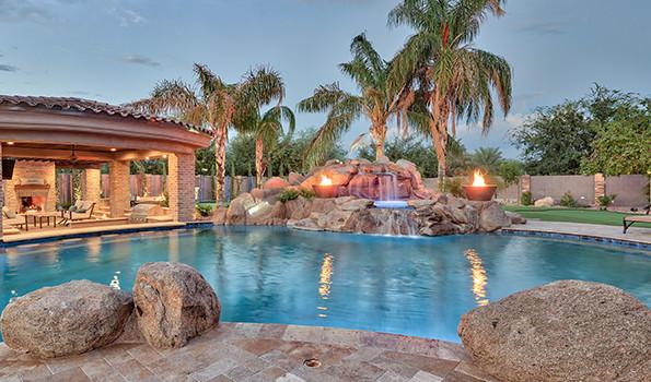 Infinity Edge Pools   Phoenix Landscaping Design & Pool Builders ...